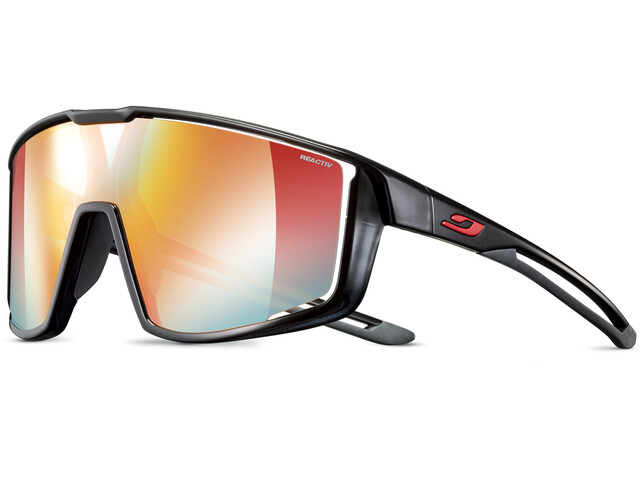 Julbo Fury Reactiv Performance 1-3 LAF Sunglasses, black translucent/black